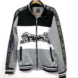 New! Le Tigre Track Combo Jacket Men's Medium
